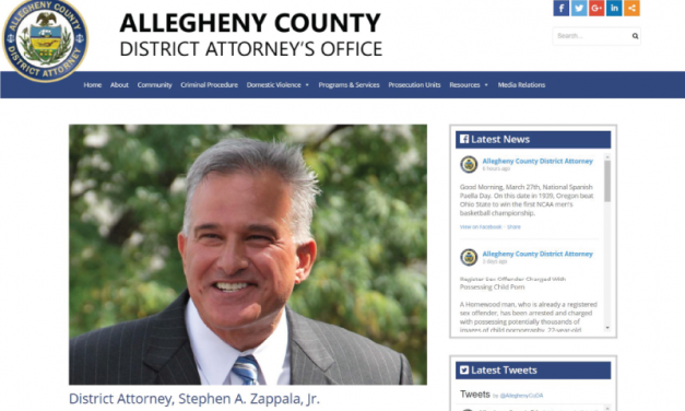 Allegheny County District Attorney's Office Website Design