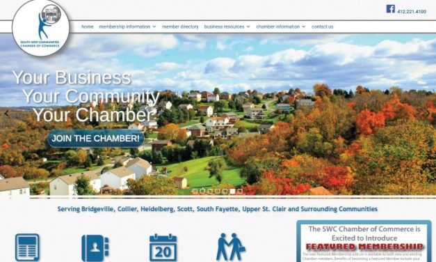 South West Communities Chamber of Commerce Website Redesign