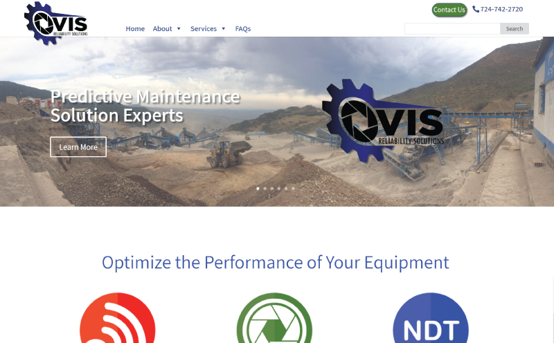VIS Website Redesign