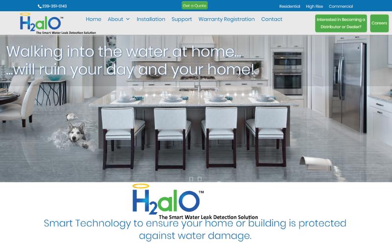 H2alO Website Design