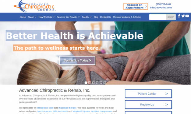 Advanced Chiropractic & Rehab, Inc. Website Design