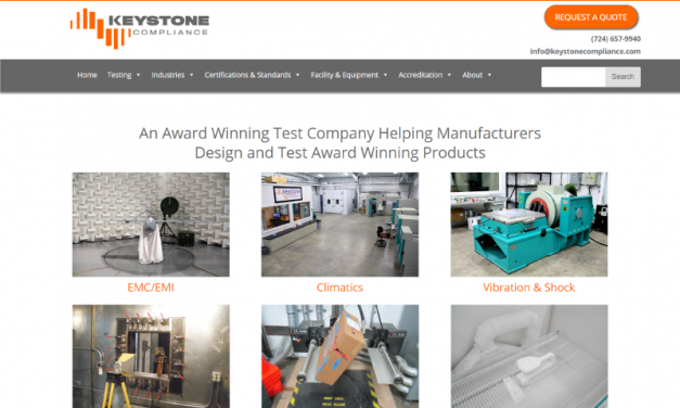 Keystone Compliance Website Design