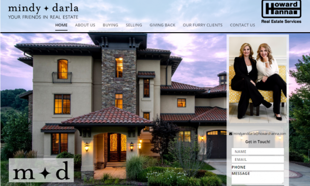 Mindy + Darla Real Estate Website Design