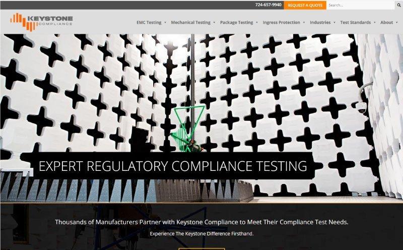 Keystone Compliance Home Page