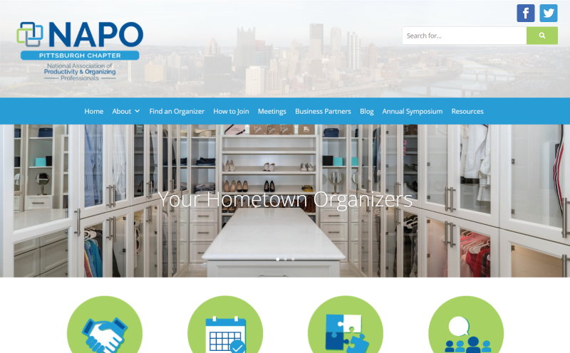 NAPO Pittsburgh Website Redesign-800×496