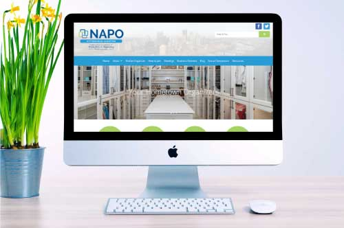 NAPO Pittsburgh Chapter Website Redesign