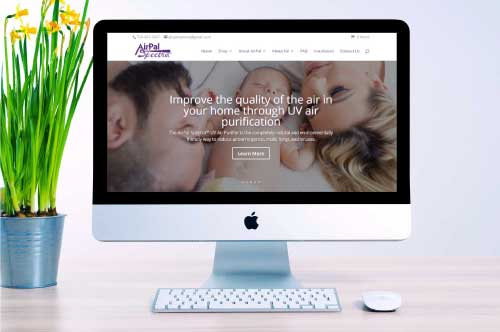 AirPal Spectra E-Commerce Website Redesign