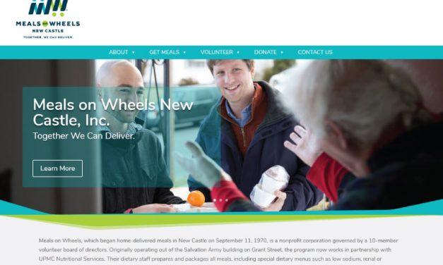 Meals on Wheels of New Castle Website Design