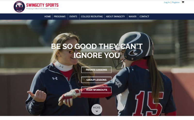 SwingCity-Sports-Website-Design