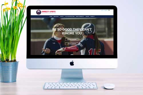 SwingCity Sports E-Commerce Website Design