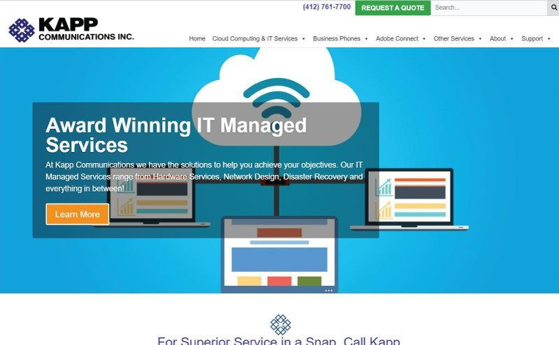 Kapp Communications Website Redesign