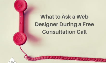 What to Ask a Web Designer During a Free Consultation Call