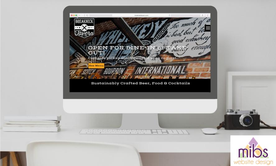 Case Study: Breakneck Tavern Website Redesign