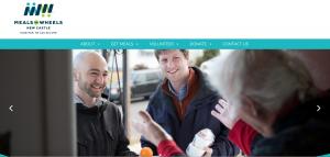 Non-Profit Website Example